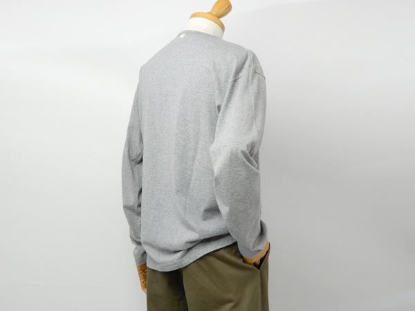 ナイジェルケーボン(NIGEL CABOURN)のUSネイビーロングスリーブTシャツ
