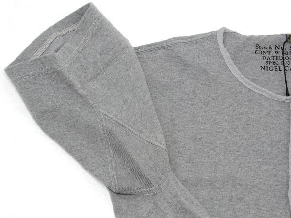 ナイジェルケーボン(NIGEL CABOURN)の50'Sヘンリーネックシャツ